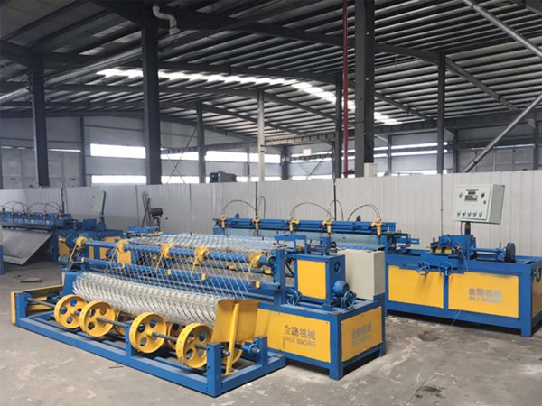 full-automatic chain link fence machine  single wire