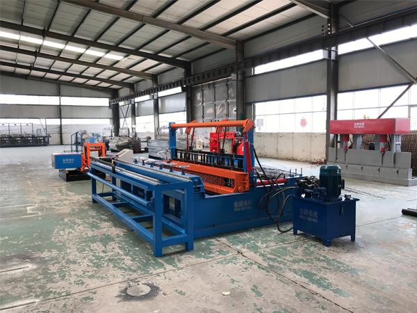 4-12 full automatic hydraulic Crimped Wire Mesh Machine (2)