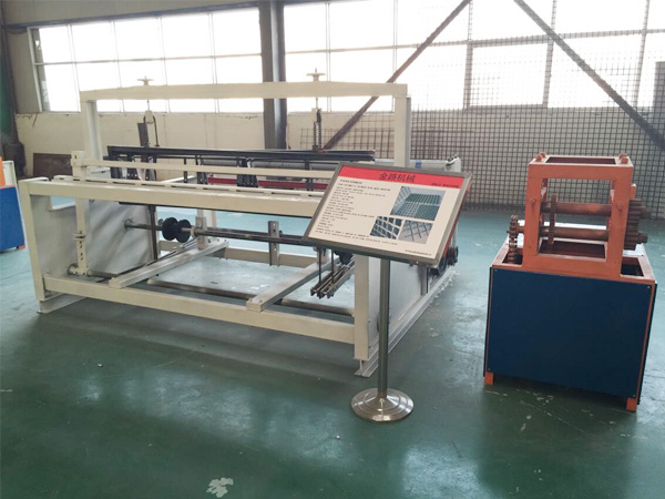 semi-automatic crimped wire mesh machine