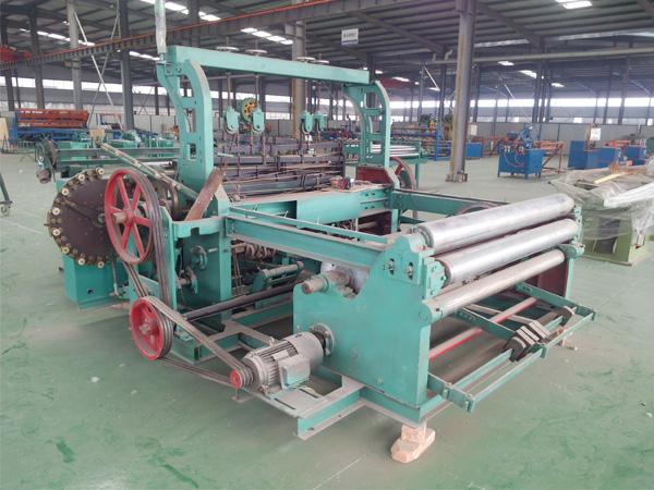 130D metal wire mesh weaving machine